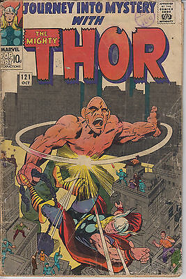 Thor Journey into Mystery 121 - 1965 - Kirby - Very Good