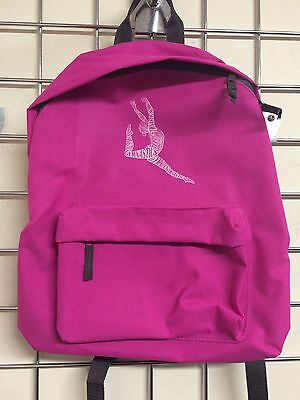 Gymnastics  Back Pack with print - pink - NOW £7.50