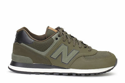 New Balance ML574 Outdoor Leather Cordura Vert militaire