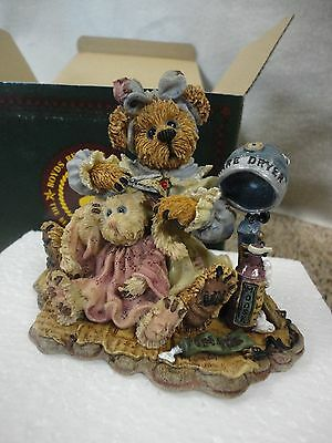 Boyd's Bears Bearstone Collection 'wanda And Gurt A Little Off The Top' 3E/889