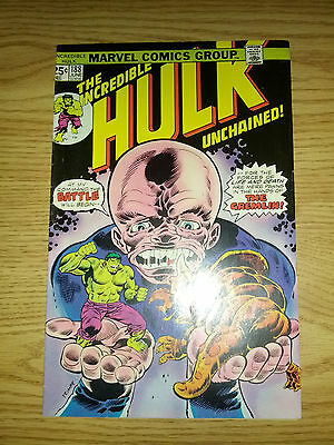 The Incredible Hulk #188  Fine