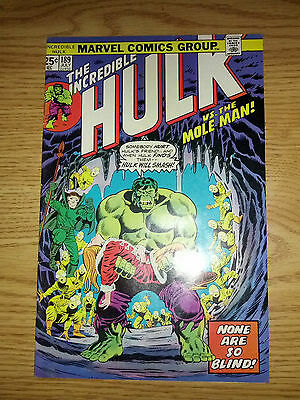The Incredible Hulk #189  Fine