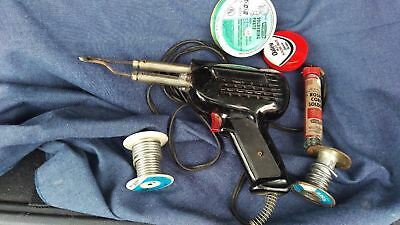 Weller Soldering Gun Easton PA USA Made with Assorted Solder Included.