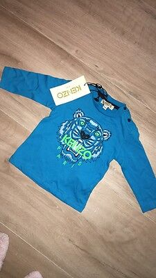 Authentic kenzo tshirt size 6 Months