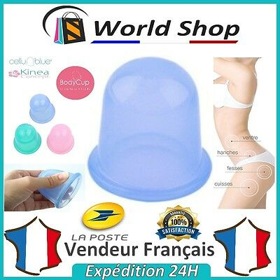 Ventouse anti cellulite silicone massage minceur type cellublue body cup