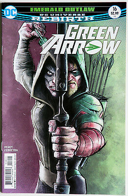 Green Arrow #16 Vol 6 Rebirth - DC Comics - Benjamin Percy - Otto Schmidt