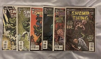 Swamp Thing New 52 - Issues #1-6 - VGC - Bagged & Boarded
