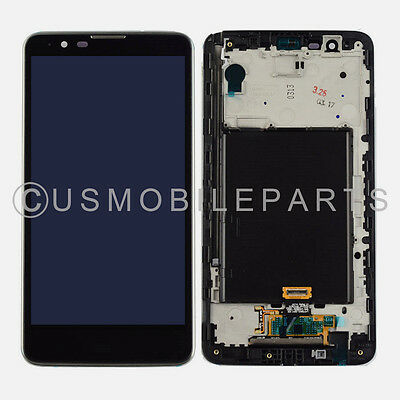 Display LCD Screen Touch Screen Digitizer Frame Replacement for LG Stylo 2 LS775