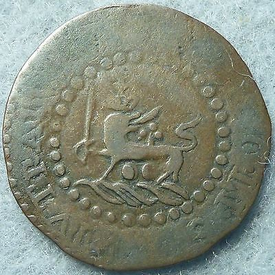 1829 Philippines Quarto Spain Retrograde Lion and Shield