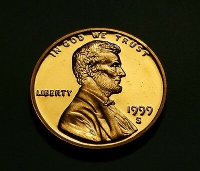 1999 S Lincoln Memorial Penny Proof #w26006