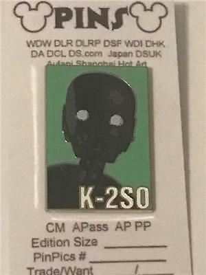 2016 Disney Star Wars: Rogue One Reveal Conceal Mystery Set- K2-S0 Pin 118501