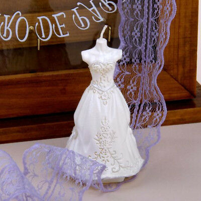 Bridal Gown Candle Molds DIY Craft Silicone Soap Mold 3D Wax Resin Mould
