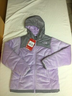 The North Face Girls Reversible Perseus Jacket Bloom Purple Size S 7/8