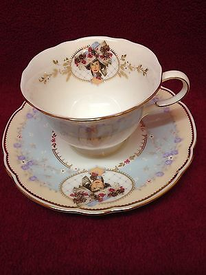 Avon Honor Society Nikko Japan 1998 Cup And Saucer Gold Trim