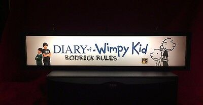 """Diary Of A Wimpy Kid: Rodrick Rules (2011) -Large Movie Theater Mylar 5"""" X 25"""""""