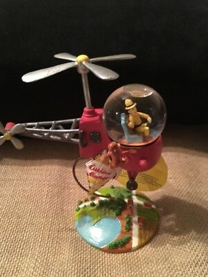 Curious George Helicopter Figurine