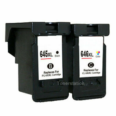 Generic Ink Canon PG-645XL CL-646XL PG645 CL646 For Pixma MG2965 MX496 MG2460
