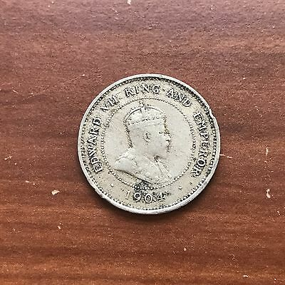 1904 Jamaica Farthing World foreign coin Fine Condition low mintage