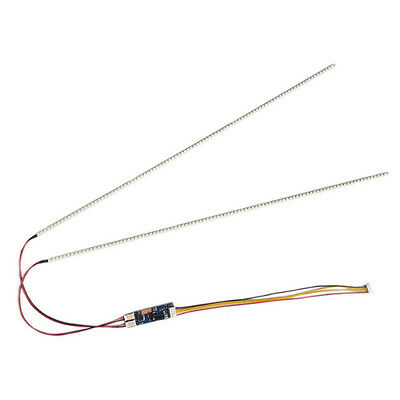 """540x4mm 2pc LED Backlight Strips Kit For 24"""" Update CCFL LCD Screen+Driver Board"""