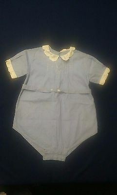 Vintage Baby Boy or Girl Romper
