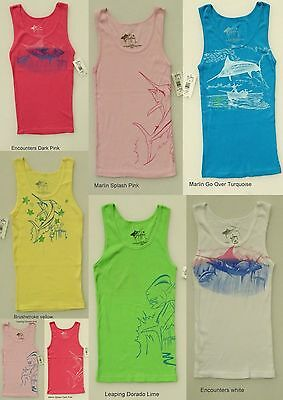 GUY HARVEY LOT of 12 ASSORTED WOMEN'S TANK TOPS RIB KNIT