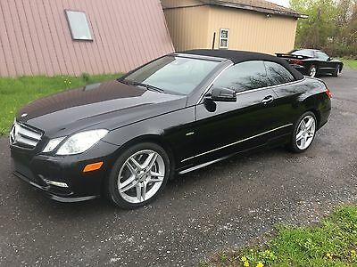 2012 Mercedes-Benz E-Class E-550 AMG Options 2012 Mercedes Benz E550 Cabriolet AMG Options