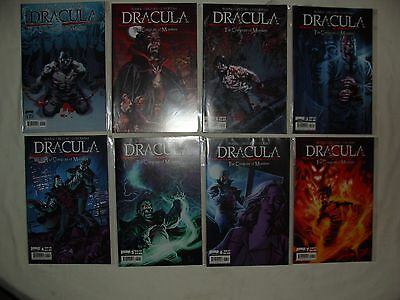 Lot Of 15 Dracula 1 2 3 4 5 6 7 8 9 10 11 12 Complete Set + 2 Variants -  Nm