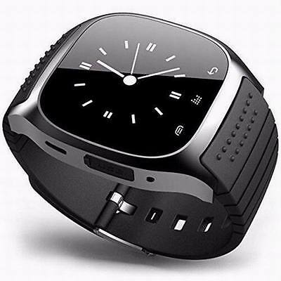 Wrist Waterproof Bluetooth Smart Watch Phone Mate For Android Samsung iPhone iOS