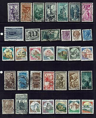 Italy... Collection Of Various Stamps...page Lot