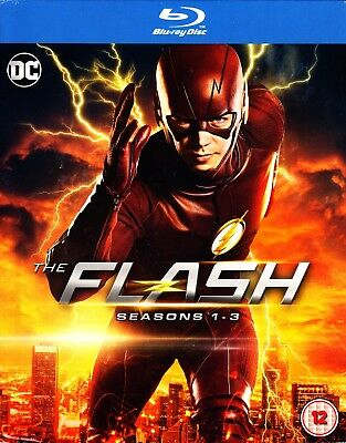 The Flash - Complete Season 1 2 3 (2017) Blu Ray Boxset New And Sealed 1-3