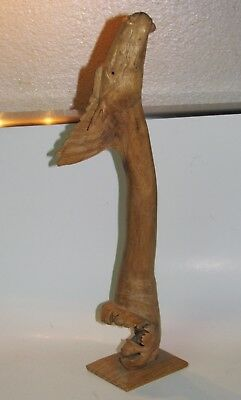 Bali Horse Carving Parasite Wood - Indonesia