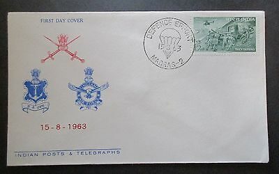 India 1963 Defence Errort...fdc