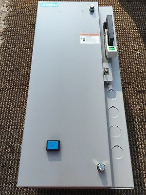 New Siemens 17CSB92BF1 Fusible  Combination Starter