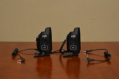 Pair of PocketWizard Plus X radio transceivers, lightly used, original packaging