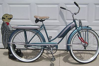 RESTORED 1951 J.C.HIGGINS BEE-HIVE BICYCLE-MONARK COLOR FLO RACK-TANK-schwinn