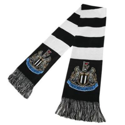 Newcastle United Scarf- 100% Official Licensed Product