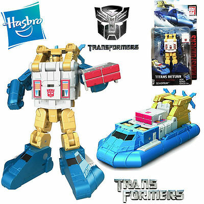 Hasbro Transformers Seaspray Boat Titans Return Legends Action Figure Model Toy