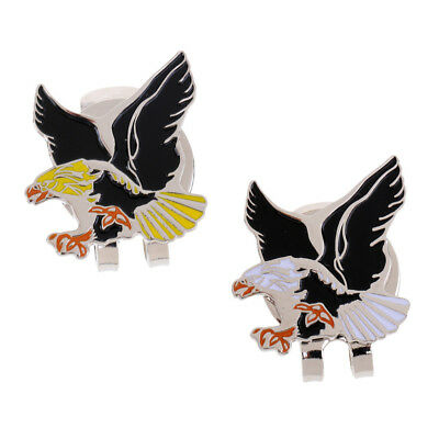 Alloy Eagle Golf Ball Marker with Magnetic Hat Clip Golf Gift Accessories