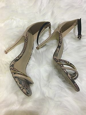 nude sandals Size 38