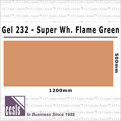 Clear Color 232 Filter Sheet - Super White Flame