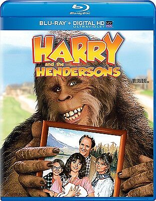 Harry And The Hendersons (1987) Blu Ray New And Sealed Region Free  John Lithgow