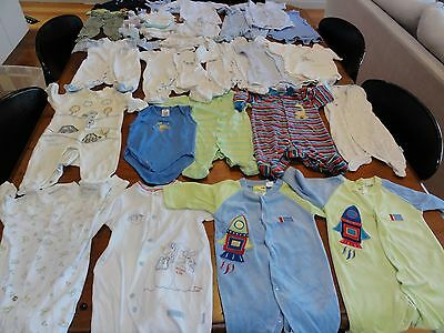 Baby Boys Clothes Mixed Bulk Lot 105 Items sz 000 / 00 / 0