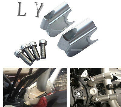 Pullback Handlebar Risers Rise Moves Bar Up For Bmw F700Gs 13-17 F650Gs 08-12 11