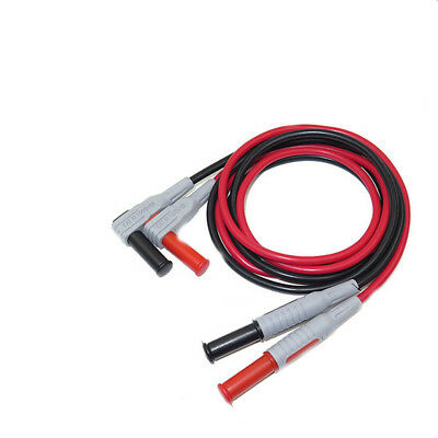 Silicone Wire Multimeter Test Cable Injection Molded 4mm Banana Plug Wire