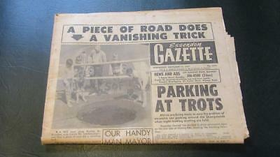 1967 Wednesday November 15th. Essendon Gazette/Newspaper 28 Pages Price 2 cents