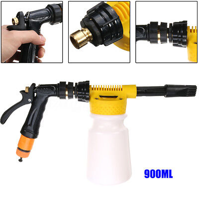 Foamaster II Snow Foam Car Wash Spray Gun Lance Uses Hose Pipe 900ML Bottle