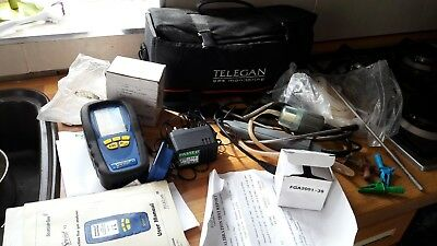 multi function flue gas analyser  sprintV3 telegan gaz monitoring