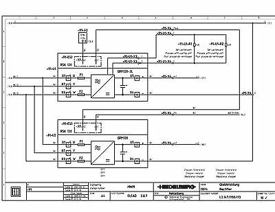 Heidelberg Speed Master CD-74 1998 wiring diagram (121)