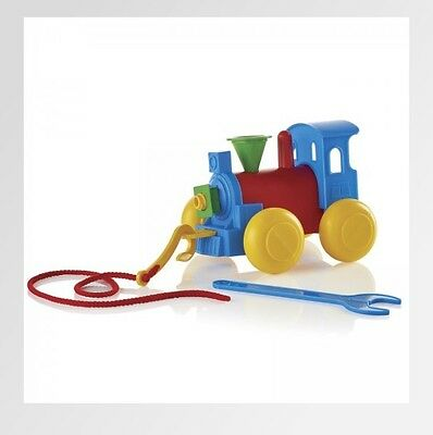 Tupperware Build a Train Pull Along Childs Toy Educational Tupperkids NEW