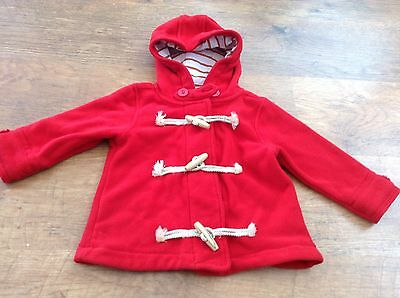 Next  Girls Autumn Winter Duffel Hooded Jacket 18-24Mths